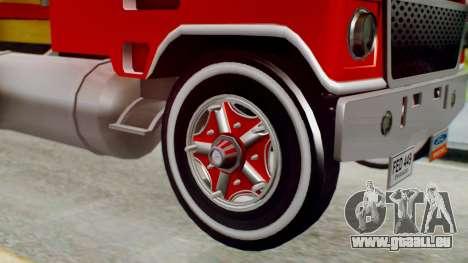 Ford 9000 Con Estacas Stylo Colombia pour GTA San Andreas sur la vue arrière gauche