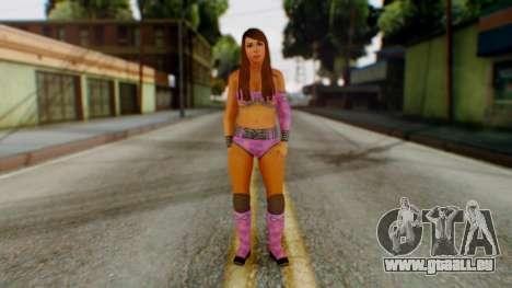 Layla WWE pour GTA San Andreas deuxième écran