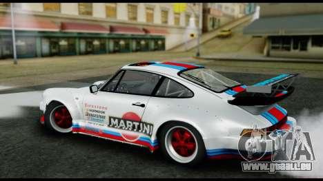 Porsche 911 Turbo 3.2 Coupe (930) 1985 pour GTA San Andreas laissé vue