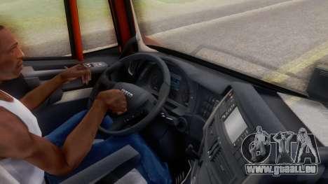 Iveco Stralis HI-WAY pour GTA San Andreas vue arrière