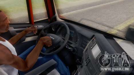 Iveco Stralis HI-WAY für GTA San Andreas Rückansicht