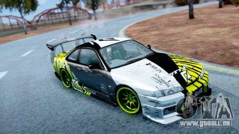 KAM1KAZE Drift Track Map pour GTA San Andreas quatrième écran