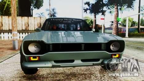 Ford Escort Mk1 pour GTA San Andreas vue de droite