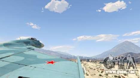 GTA 5 Su-33 cinquième capture d'écran