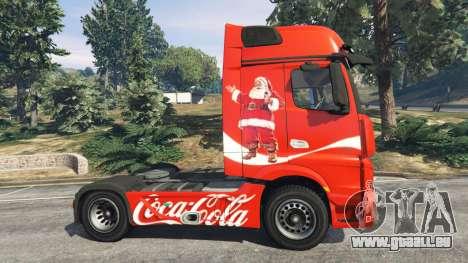 Mercedes-Benz Actros Euro 6 [Coca-Cola] pour GTA 5