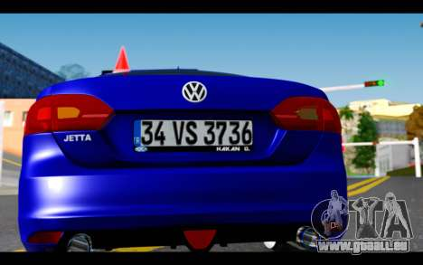 Volkswagen Jetta pour GTA San Andreas vue intérieure