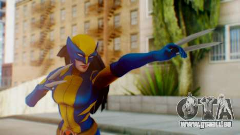 Marvel Heroes X-23 (All new Wolverine) v1 pour GTA San Andreas