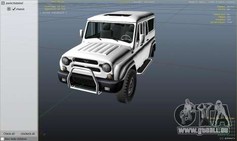 GTA 5 УАЗ 3159 Porpoising Rad