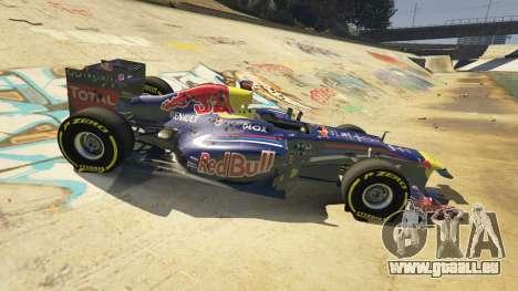 GTA 5 Red Bull F1 v2 redux vorne rechts Seitenansicht