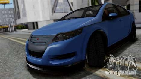 GTA 5 Cheval Surge pour GTA San Andreas sur la vue arrière gauche