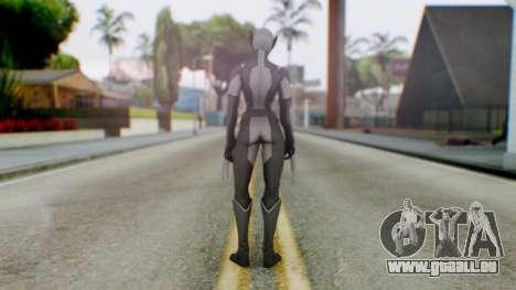 Marvel Heroes X-23 (All new Wolverine) v2 für GTA San Andreas dritten Screenshot