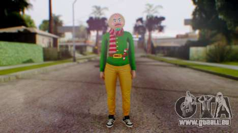 GTA Online Festive Surprise Skin 1 für GTA San Andreas zweiten Screenshot