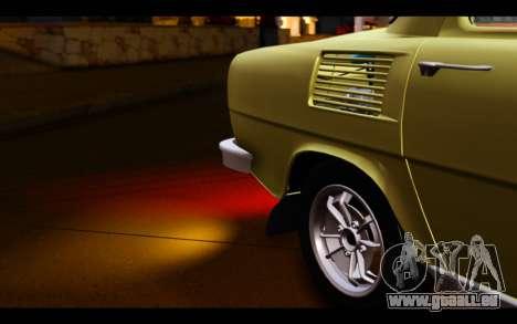 Skoda 100 für GTA San Andreas Seitenansicht