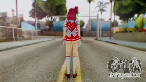 Katagiri Kyoka pour GTA San Andreas troisième écran
