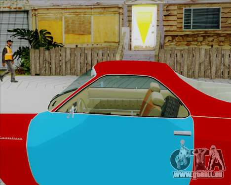 Chevrolet El Camino My Name is Earl v1.0 pour GTA San Andreas sur la vue arrière gauche