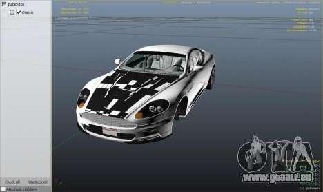 GTA 5 Aston Martin DBS hinten rechts