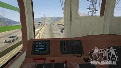 GTA 5 Monster Train vue arrière