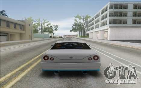 Elegy DRIFT KING GT-1 [2.0] (New wheels) pour GTA San Andreas vue de droite