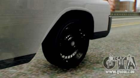 GTA 5 Vapid Chino Tunable IVF PJ pour GTA San Andreas sur la vue arrière gauche