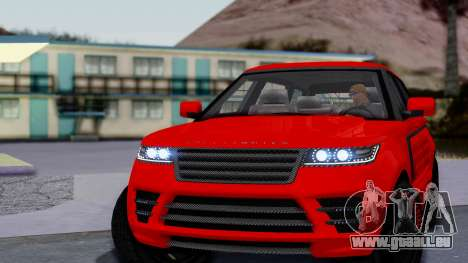 GTA 5 Gallivanter Baller LE LWB Arm für GTA San Andreas