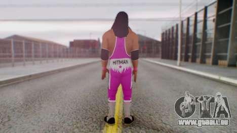 Bret Hart 1 pour GTA San Andreas troisième écran