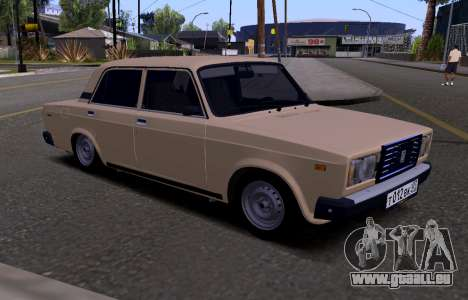 VAZ 2107 KBR pour GTA San Andreas