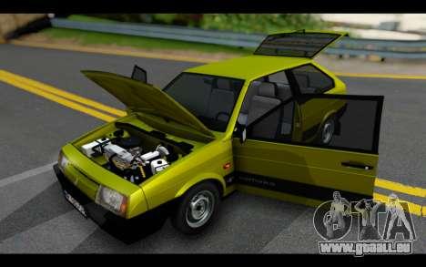 Lada Samara für GTA San Andreas Innenansicht
