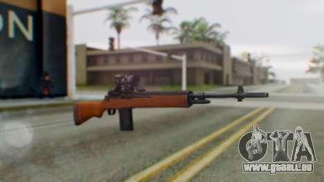 Arma2 M14 Assault Rifle pour GTA San Andreas