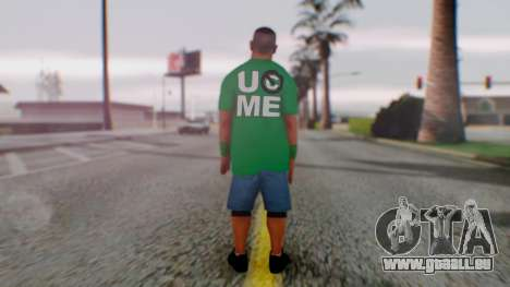 John Cena für GTA San Andreas dritten Screenshot