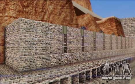 Nouveau barrage pour GTA San Andreas troisième écran