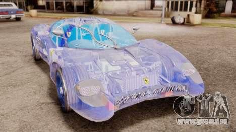 Ferrari P7 Crystal für GTA San Andreas