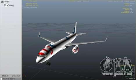 GTA 5 Boeing 757-200 neunter Screenshot