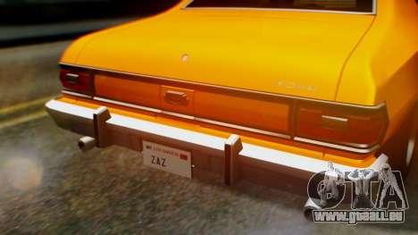 Ford Gran Torino 1974 für GTA San Andreas Seitenansicht