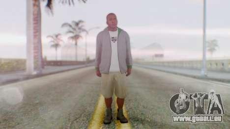 GTA 5 Franklin für GTA San Andreas zweiten Screenshot