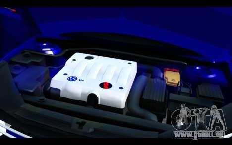Volkswagen Jetta für GTA San Andreas obere Ansicht