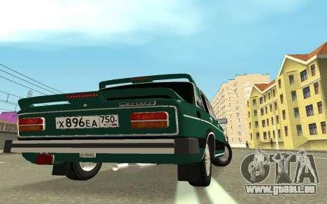 VAZ 2103 Sport tuning pour GTA San Andreas sur la vue arrière gauche