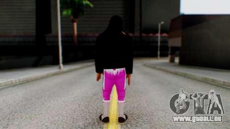 Bret Hart 2 pour GTA San Andreas troisième écran