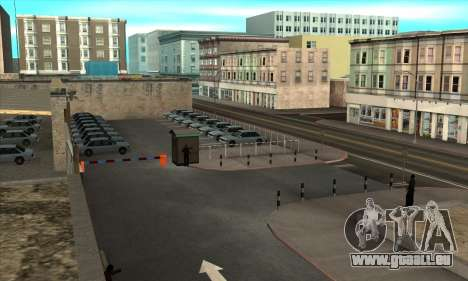 Renouvellement des auto-écoles dans le quartier pour GTA San Andreas deuxième écran