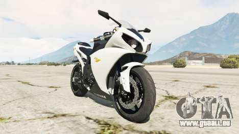 Yamaha YZF-R1 2014 pour GTA 5