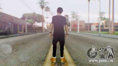 Skin Swagger Sasuke Uchiha für GTA San Andreas dritten Screenshot