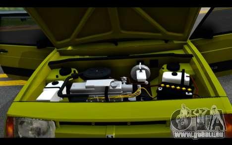Lada Samara für GTA San Andreas Seitenansicht