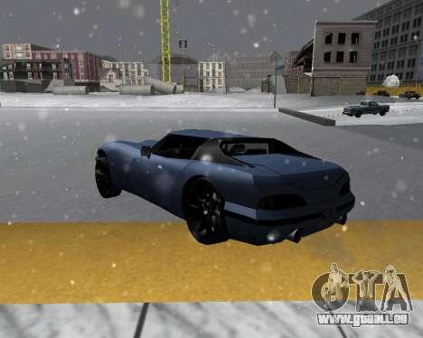 Nouveau Banshee avec toit pour GTA San Andreas laissé vue