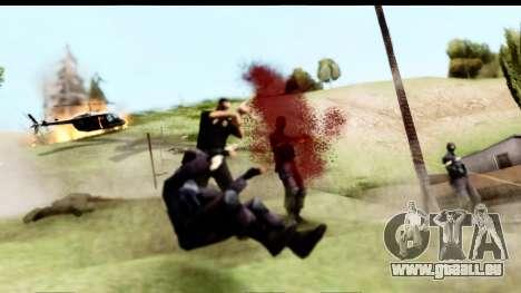 New Effects (IMFX, Shaders) pour GTA San Andreas quatrième écran