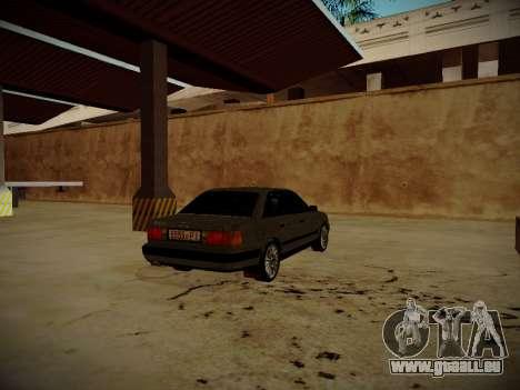 Audi 100 C4 Belarus Edition pour GTA San Andreas sur la vue arrière gauche
