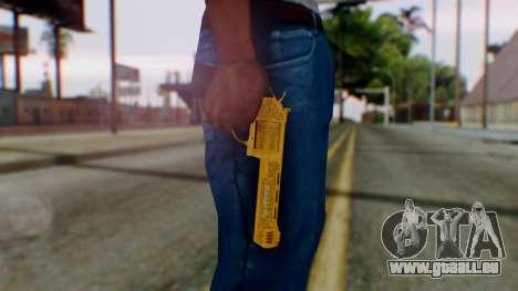 GTA 5 VIP Revolver für GTA San Andreas dritten Screenshot