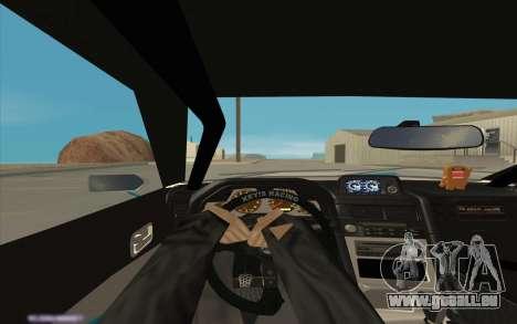 Elegy DRIFT KING GT-1 [2.0] (New wheels) pour GTA San Andreas vue de dessus