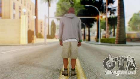 GTA 5 Franklin für GTA San Andreas dritten Screenshot