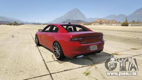 2015 Dodge Charger RT 1.4 pour GTA 5