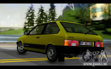 Lada Samara für GTA San Andreas zurück linke Ansicht