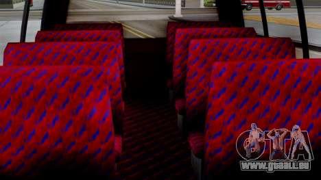 GTA 5 Rental Shuttle Bus Escalera Livery für GTA San Andreas rechten Ansicht